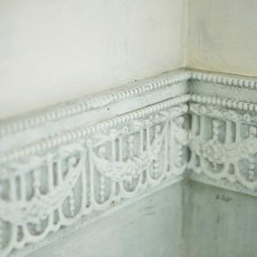 Concrete Floor Mint Wall